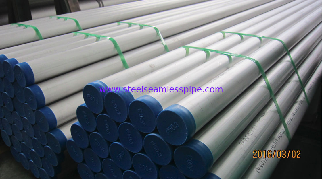 6M Pickled and Annealed Stainless Steel Welded Pipe JIS G3459 SUS316L SUS304L 300A SCH 40