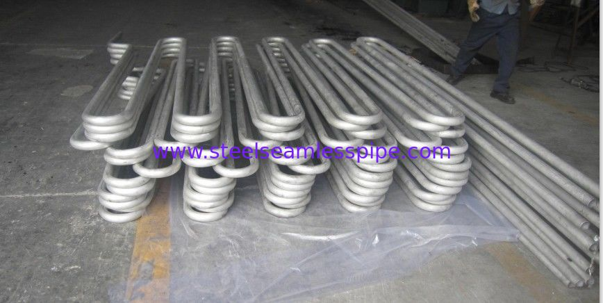 Heat exchanger Boiler tube Pickled / Bright Annealed Stainless Steel Seamless Tube / U BEND , COIL
