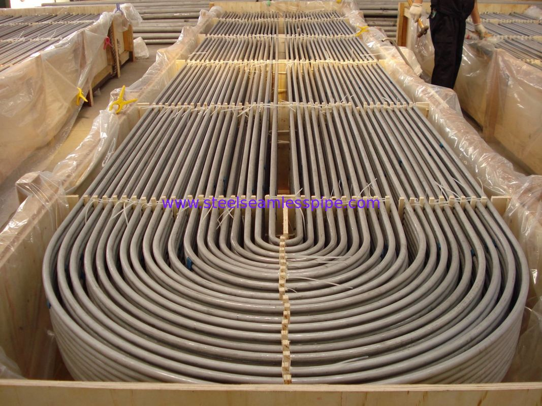 Nickel Alloy Steel U Bend Tube Hestalloy C276 Inconel alloy625 All0y601 Alloy 690 Incoloy alloy800,800H , 825