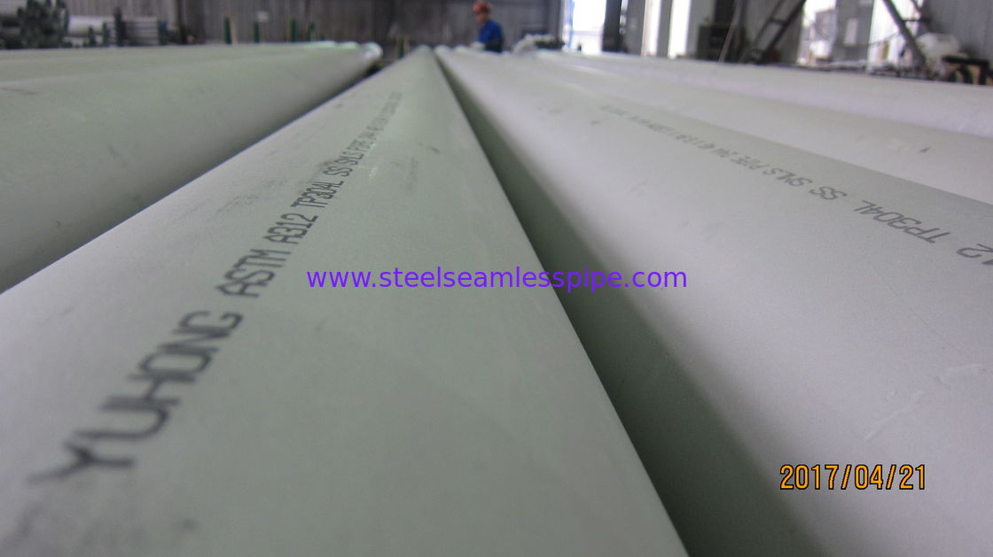 Stainless Steel Seamless Pipe (Hot Finished) , ASTM  A312/ A312M-17, B16.10 & B16.19, Bevel End & Plain End