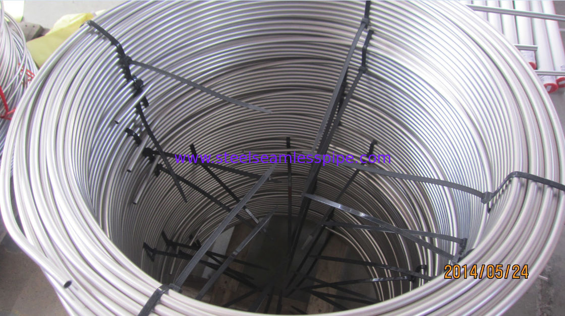 Stainless Steel Coil Tubing ASTM A269 TP304 TP304L TP316L TP316Ti TP321 TP347H
