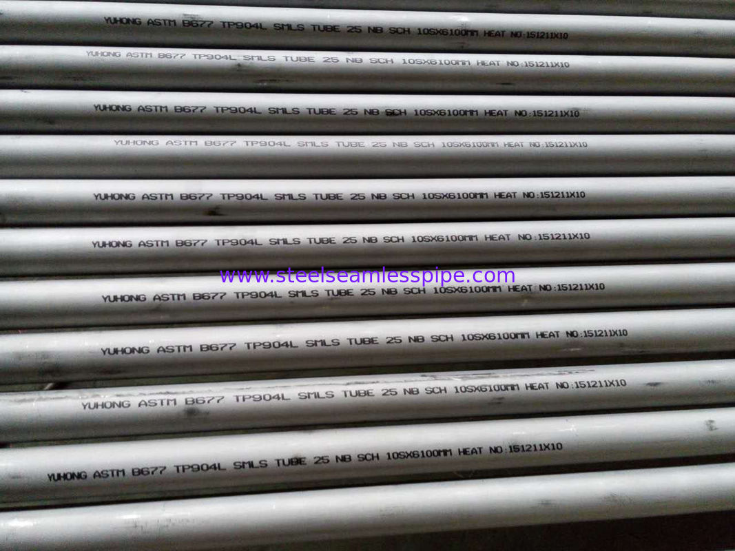 ASTM B677 UNS NO8904 / 904L Heat Exchanger Stainless Steel Seamless Tube to Australia South Afria Europe