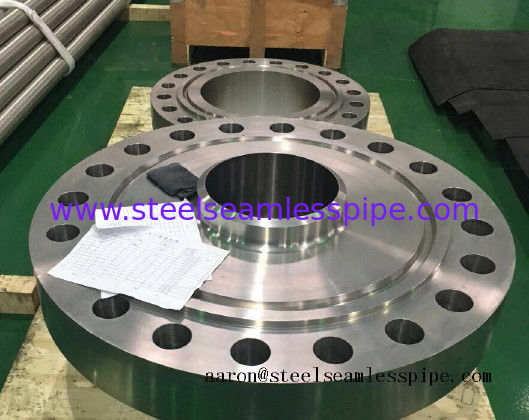 Nickel Alloy Stainless Steel Flanged Fittings , Carbon Steel Flanges BL 6'' BL Class 150