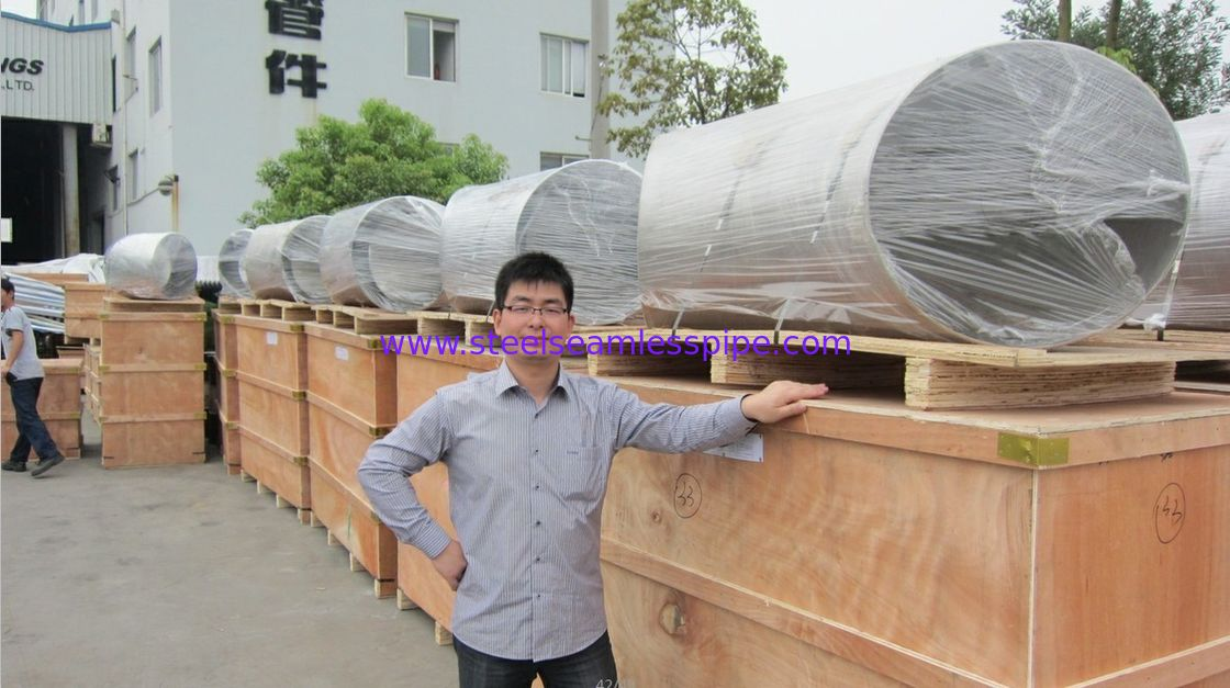 Butt Weld Fittings:Duplex Stainless Steel 90 Deg. Elbow,Tee,Reducer,Cap, LR/SR, ASTM B815 S31803/ S32205/ S3275 B16.9,