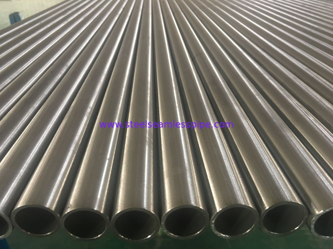 Incoloy Alloy 825 seamless tube , Nickel Alloy Pipe ASTM B 163  100% ET AND HT