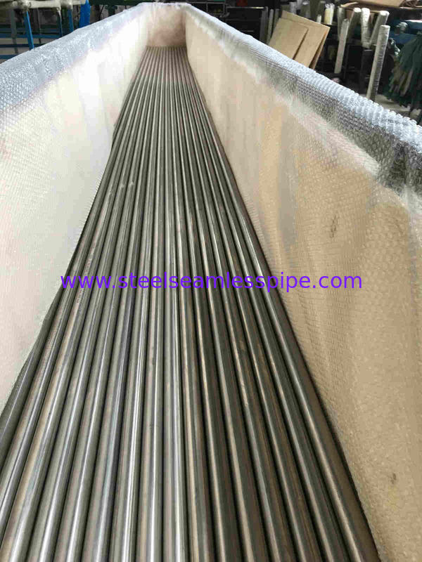 Plain Ends Welded Steel Pipes Bright Annealed Surface Straight Type