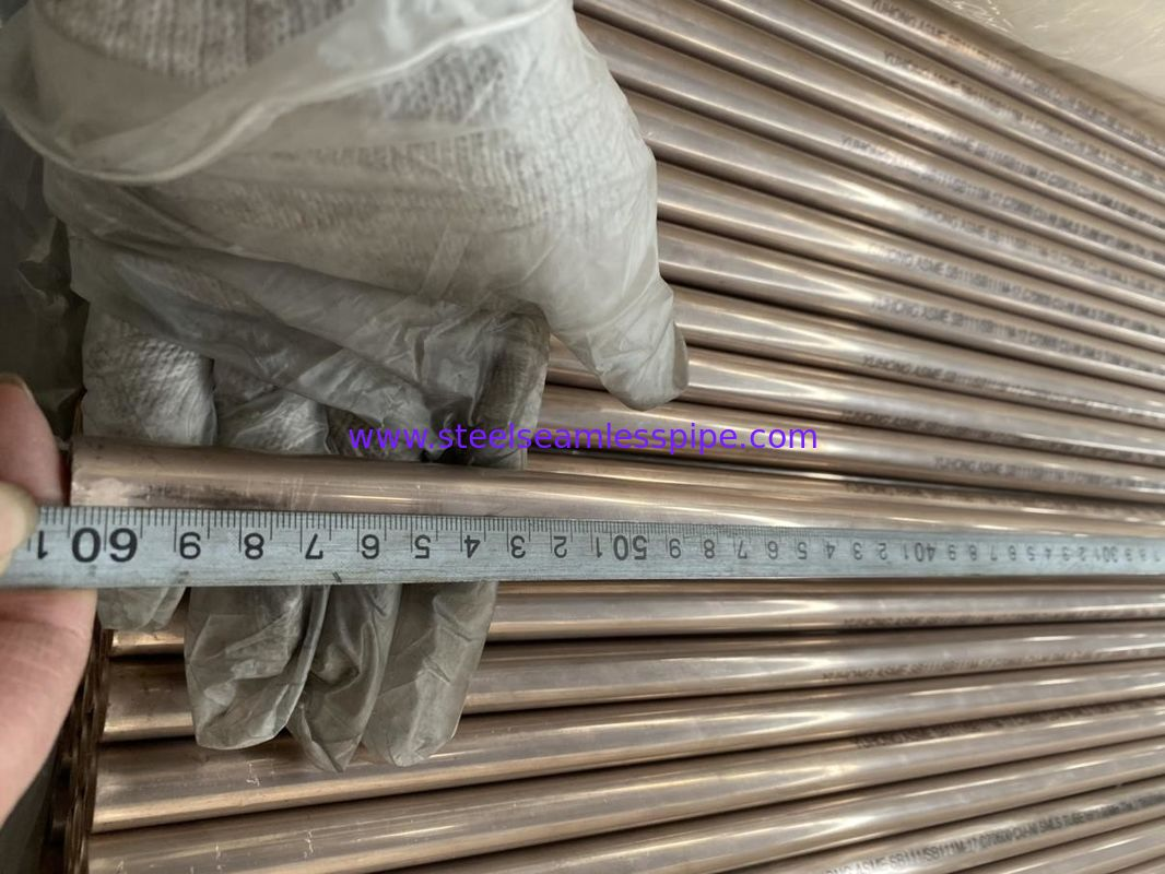ASTM B88 ASTM B688 Copper Nickel Pipe Seamless Welded Type High Resistance To Erosion