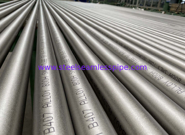 ASTM B407 UNS N08810 Incoloy 800H Seamless Alloy Steel Pipe